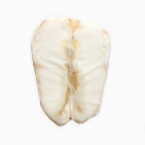 Осетр горячего копчения кусок без кожи весовой в/у